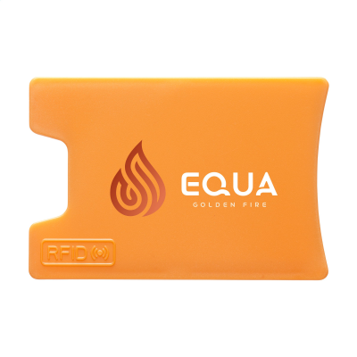 Picture of RFID VISITA CARD HOLDER in Orange