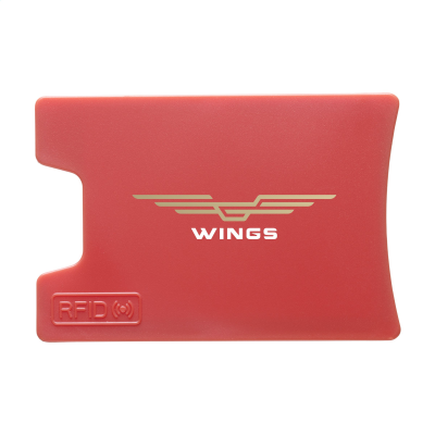 Picture of RFID VISITA CARD HOLDER in Red