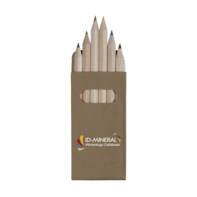 Picture of SIX COLOUR WOOD COLOURING PENCIL SET