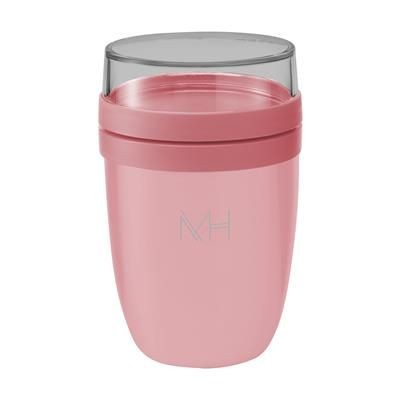 Picture of MEPAL ISOLEER LUNCHPOT ELLIPSE FOOD CONTAINER in Pink