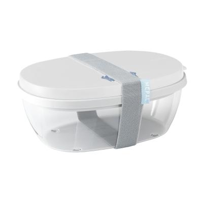 Picture of MEPAL SALADBOX ELLIPSE in White