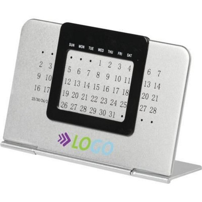 Picture of SMART DATE DESK CALENDER in Silver