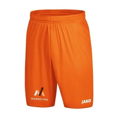 Picture of JAKO® SHORTS MANCHESTER 2,0 CHILDRENS in Fluorescent Orange