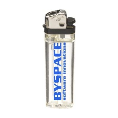 Picture of TRANSFLINT LIGHTER in Clear Transparent