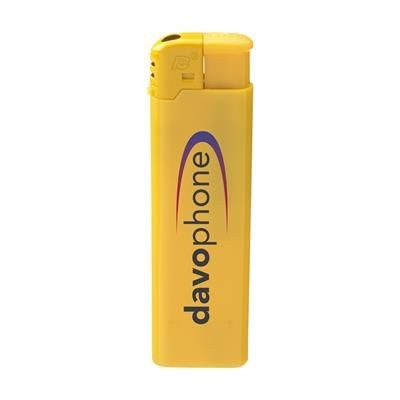 Picture of TOPFIRE SLIM LIGHTER in Yellow
