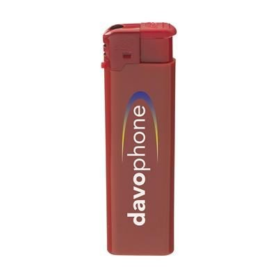 Picture of TOPFIRE SLIM LIGHTER in Red