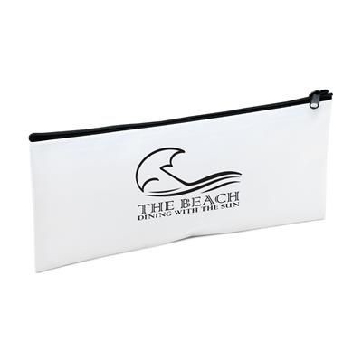 Picture of POLYESTER MULTI POUCH CASE in White