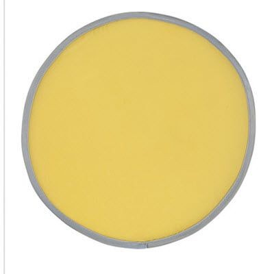 Picture of NYLON POP UP FOLDING FRISBEE in Yellow