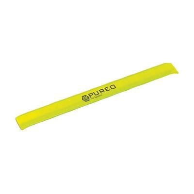 Picture of PLASTIC REFLECTIVE SNAP WRAP NEON FLUORESCENT ARM BAND in Yellow