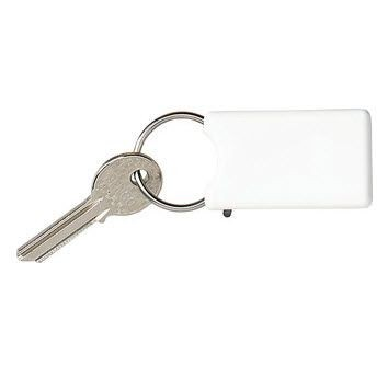Picture of SAFE KEYRING with Click System in White