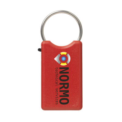 Picture of SAFE KEYRING in Red