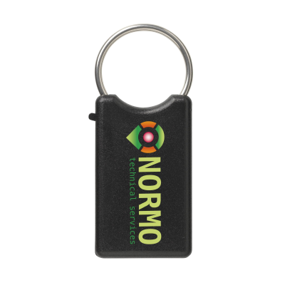 Picture of SAFE KEYRING in Black