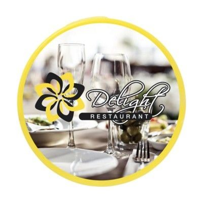 Picture of MEMO MAGNET ROUND 42MM DIA in Yellow