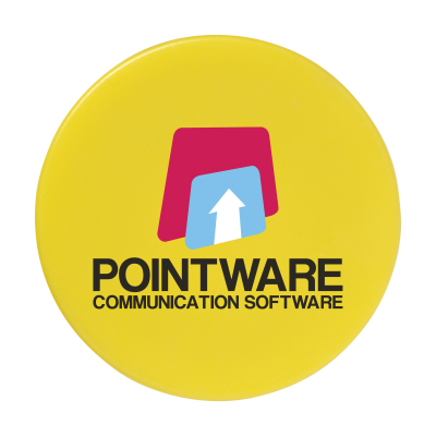 Picture of MEMO MAGNET ROUND 30MM DIA in Yellow