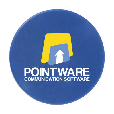 Picture of MEMO MAGNET ROUND 30MM DIA in Blue