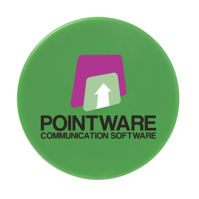 Picture of MEMO MAGNET ROUND 30MM DIA in Green