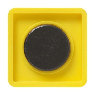 Picture of MEMO MAGNET SQUARE 42X42MM in Yellow