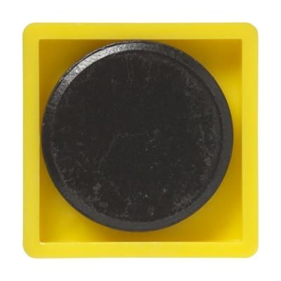 Picture of MEMO MAGNET SQUARE 30X30MM in Yellow