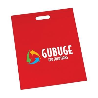 Picture of BASE BAG PROMOTIONAL CARRIER BAG in Red