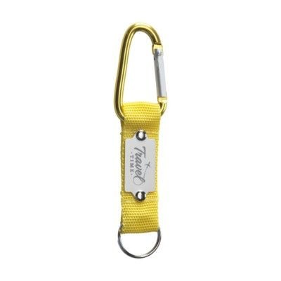 Picture of KEYTEX CARABINER HOOK in Yellow
