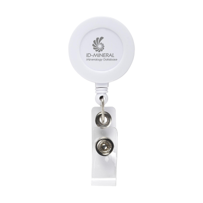 Picture of BADGECLIP BADGE HOLDER in White