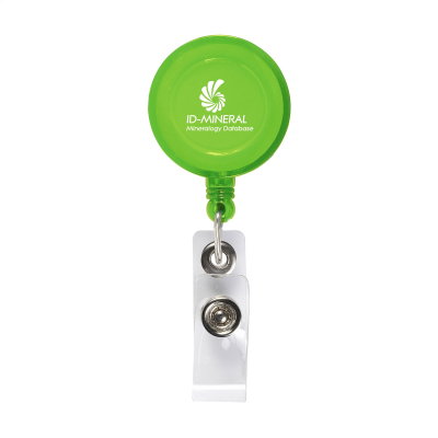 Picture of BADGECLIP BADGE HOLDER in Transparent Green