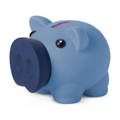 Picture of PIGGY BANK MONEY BOX in Light Blue