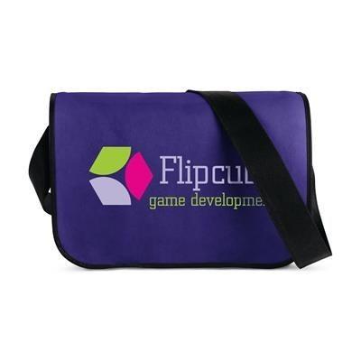 Picture of POSTMAN SHOULDER BAG in Purple