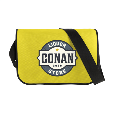 Picture of POSTMANBAG SHOULDER BAG in Yellow