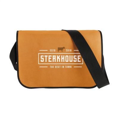 Picture of POSTMANBAG SHOULDER BAG in Orange