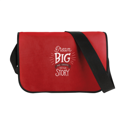 Picture of POSTMANBAG SHOULDER BAG in Red