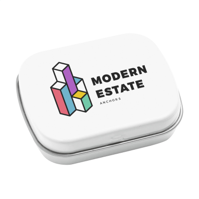 Picture of TINBOX PEPPERMINTS in White