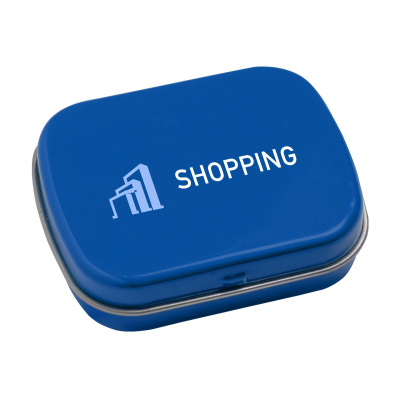 Picture of TINBOX PEPPERMINTS in Light Blue