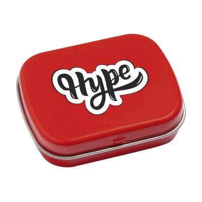 Picture of TINBOX PEPPERMINTS in Red