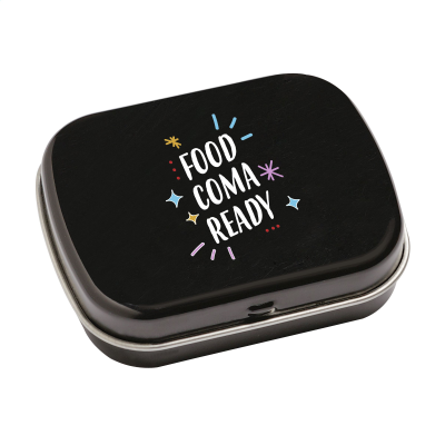 Picture of TINBOX PEPPERMINTS in Black