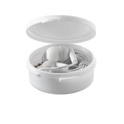 Picture of EARBOX EARPHONES in White
