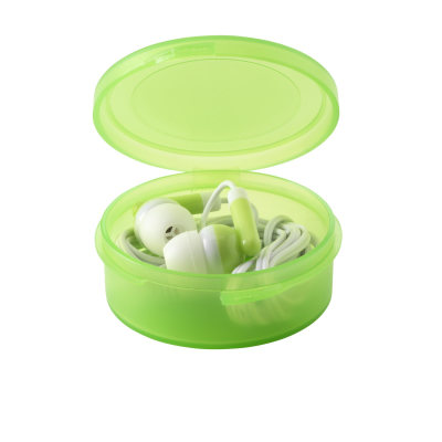 Picture of EARBOX EARPHONES in Green