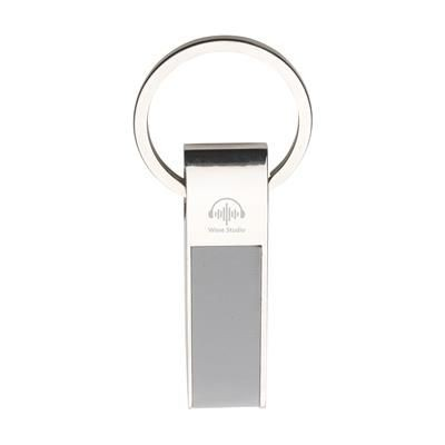 Picture of ECLIPSE KEYRING in Grey