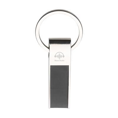 Picture of ECLIPSE KEYRING in Black