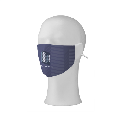 Picture of COMFY FACE MASK FULL COLOUR with White Adjustable Ear Loops