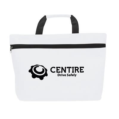Picture of PROMODOC DOCUMENT BAG in White