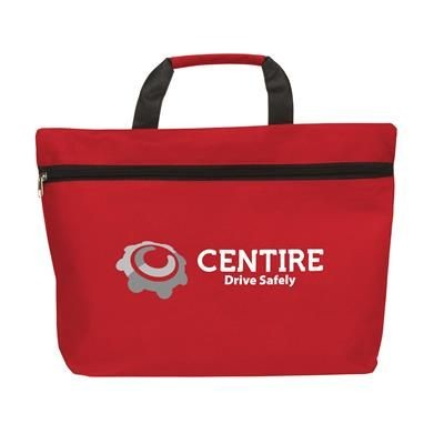Picture of PROMODOC DOCUMENT BAG in Red