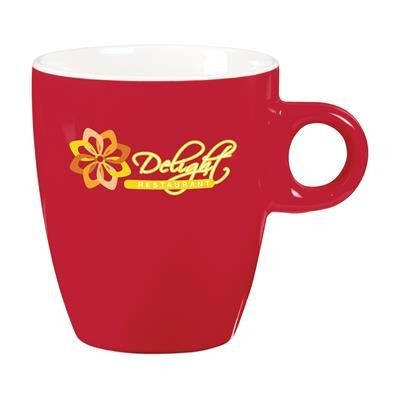 Picture of COFFEE CERAMIC POTTERY CUP in Red