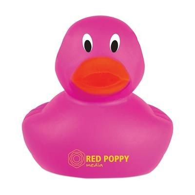 Picture of LITTLE DUCK PLASTIC BATH TOY in Magenta