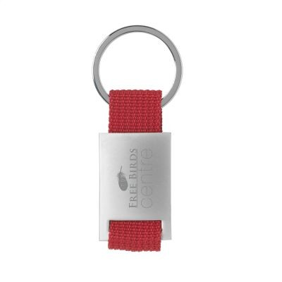 Picture of ELOY KEYRING in Red