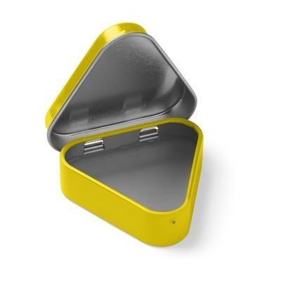 Picture of LIPBALM TRIANGULAR in Yellow