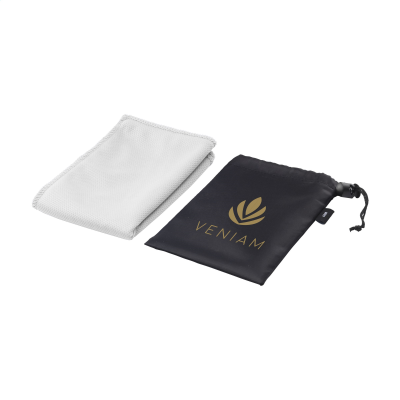 Picture of COOLDOWN RPET SPORTS COOLING TOWEL in White
