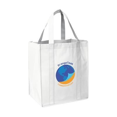 Picture of SHOP XL SHOPPER TOTE BAG in White
