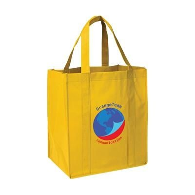 Picture of SHOP XL SHOPPER TOTE BAG in Yellow
