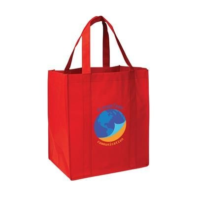 Picture of SHOP XL SHOPPER TOTE BAG in Red